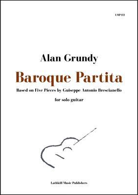 cover of Baroque Partita - Bresianello arranged by Alan Grundy
