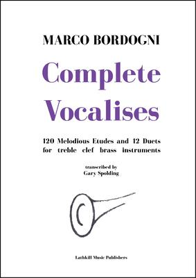 cover of Complete Vocalises by Marco Bordogni trans. Gary Spolding