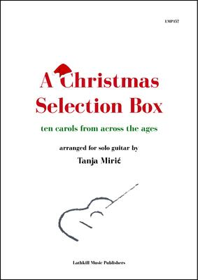 cover of A Christmas Selection Box arranged by Tanja Miric