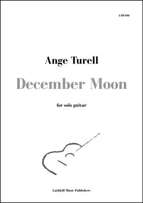 cover of December Moon by Ange Turell
