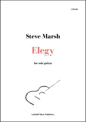 cover of Elegy by Steve Marsh