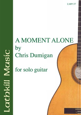 cover of A Moment Alone by Chris Dumigan