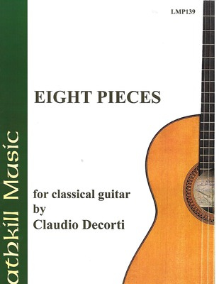cover of Eight Pieces by Claudio Decorti