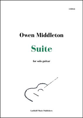 cover of Suite for Solo Guitar by Owen Middleton