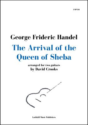 cover of The Arrival of the Queen of Sheba by Handel arr. David Crooks