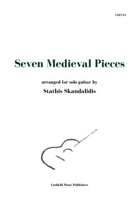 cover of Seven Medieval Pieces arranged for solo guitar by Stathis Skandalidis