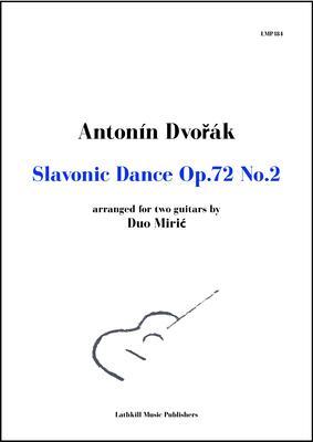 cover of Slavonic Dance Op. 72 No. 2 by Dvorak arr. Duo Miric