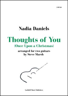 cover of Thoughts of You by Nadia Daniels arr. Steve Marsh
