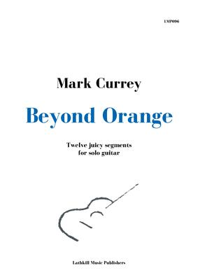 cover of Beyond Orange by Mark Currey