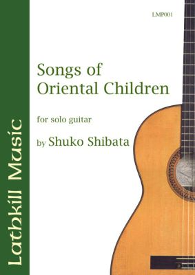 cover of Songs of Oriental Children by Shuko Shibata