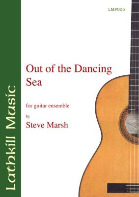 cover of Out of the Dancing Sea by Steve Marsh