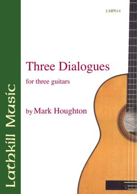 cover of Three Dialogues by Mark Houghton
