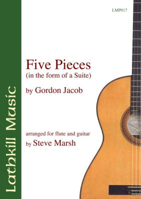 cover of Five Pieces in the Form of a Suite by Gordon Jacob