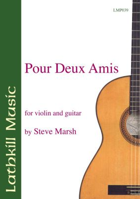 cover of Pour Deux Amis by Steve Marsh