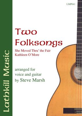 cover of Two Folksongs - traditional (arranged by Steve Marsh)
