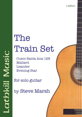 cover of The Train Set by Steve Marsh