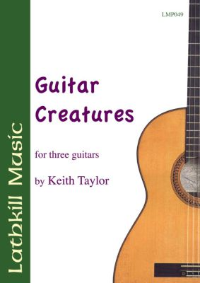 cover of Guitar Creatures by Keith Taylor