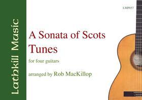 cover of A Sonata of Scots Tunes