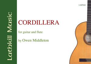 cover of Cordillera by Owen Middleton