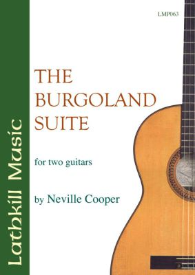 cover of The Burgoland Suite by Neville Cooper