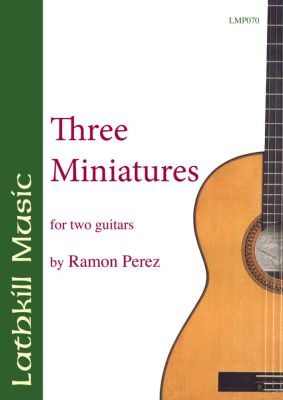 cover of Three Miniatures by Ramon Perez