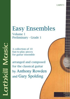 cover of Easy Ensembles Vol 1 by Tony Rowden and Gary Spolding