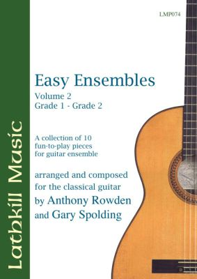 cover of Easy Ensembles Vol 2