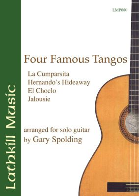 cover of Four Famous Tangos (arranged by Gary Spolding)