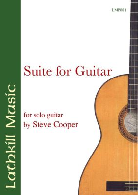 cover of Suite For Guitar by Steve Cooper