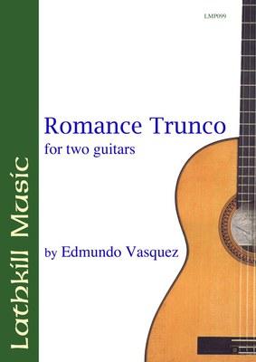 cover of Romance Trunco by Edmundo Vasquez