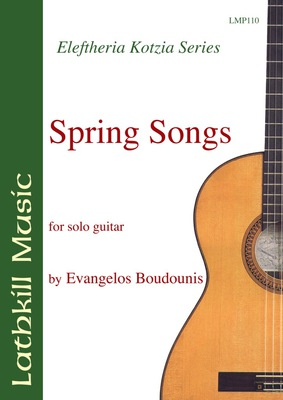 cover of Spring Songs by Evangelos Boudounis