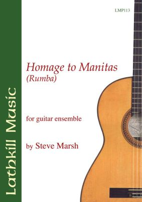 cover of Homage to Manitas By Steve Marsh