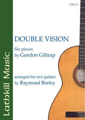 cover of Double Vision - Six Pieces by Gordon Giltrap arr. Raymond Burley
