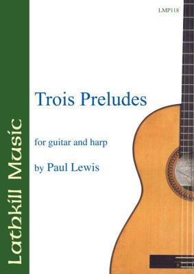 cover of Trois Preludes by Paul Lewis