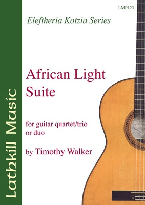 cover of African Light Suite by Timothy Walker