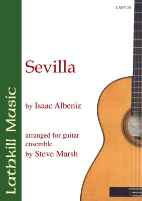 cover of Sevilla by Isaac Albeniz arr. Steve Marsh