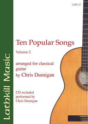 cover of Ten Popular Songs Vol 2 (arranged by Chris Dumigan)