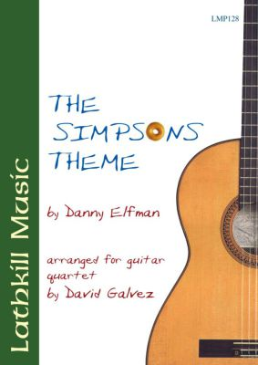 cover of Theme from The Simpsons by Danny Elfman arr. David Galvez