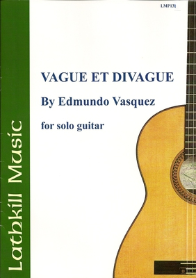 cover of Vague et Divague by Edmundo Vasquez