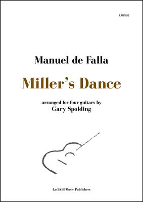 cover of Miller's Dance by Falla arranged for guitar ensemble by Gary Spolding