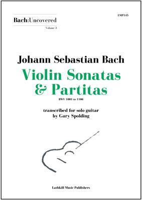 cover of Volume 3 Violin Sonatas & Partitas