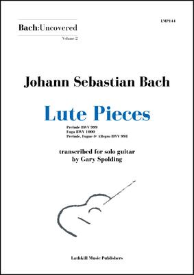 cover of Volume 2 Lute Pieces