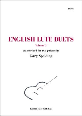 cover of English Lute Duets Volume 2 trans. Gary Spolding