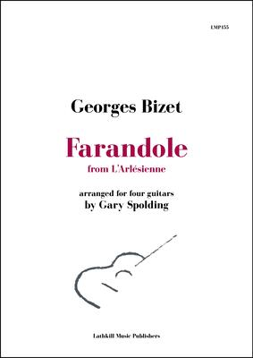cover of Farandole from L'Arlésienne by Bizet arr. for guitar ensemble Gary Spolding