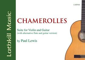 cover of Chamerolles (alternative guitar and flute version) by Paul Lewis
