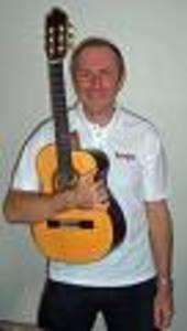 Guitarist Derek Hasted